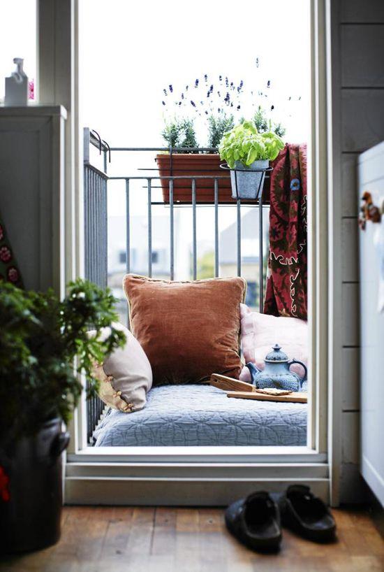 Genial indretning af din altan