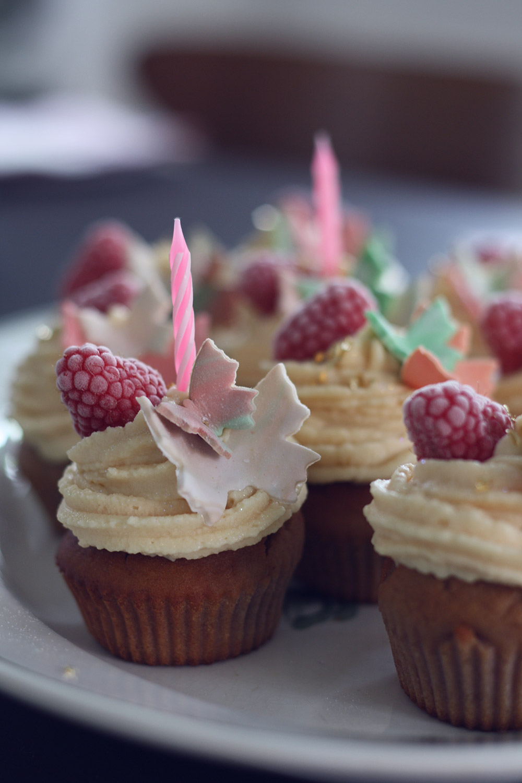 cupcake opskrift med frosting