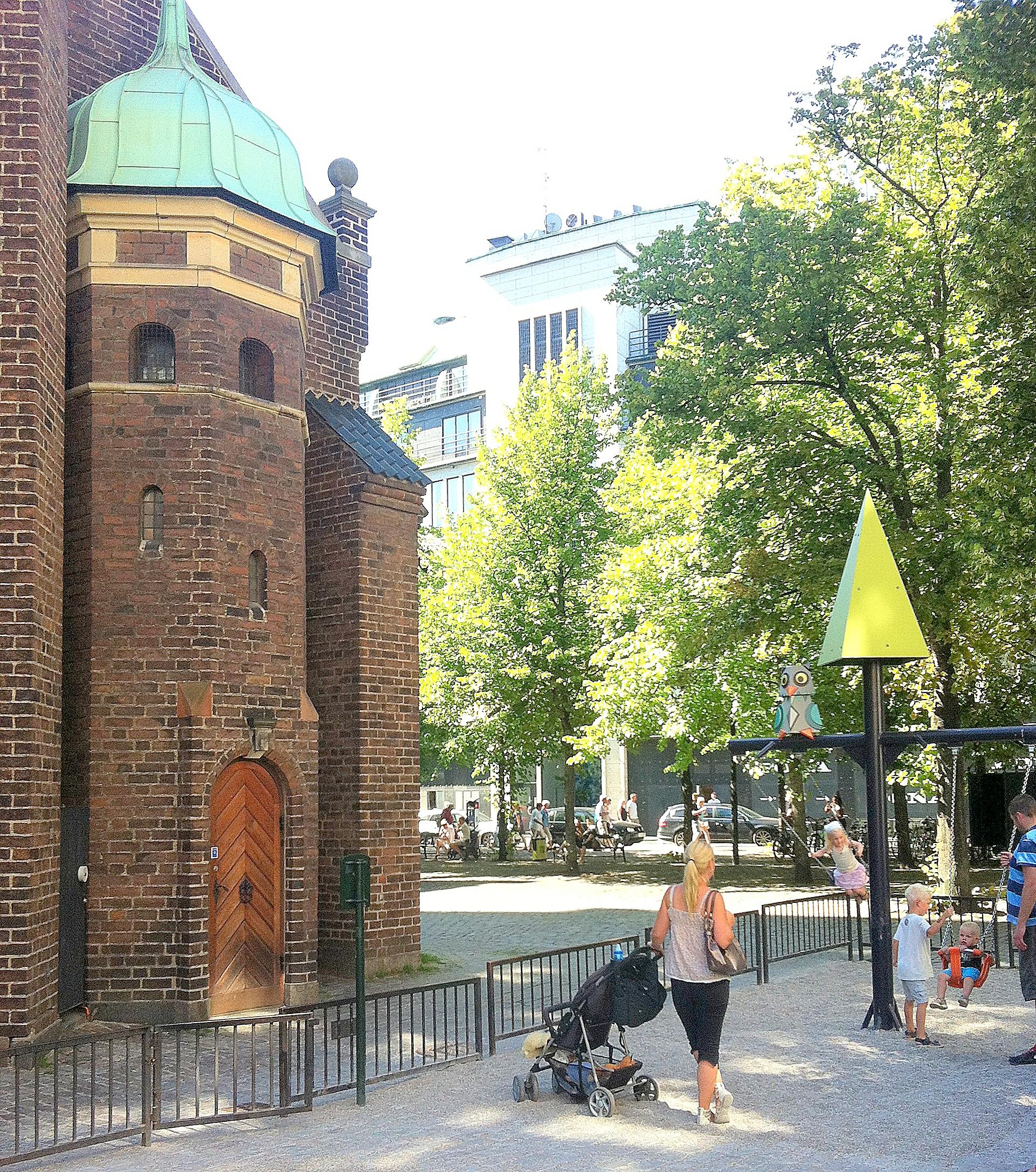 Legepladser København