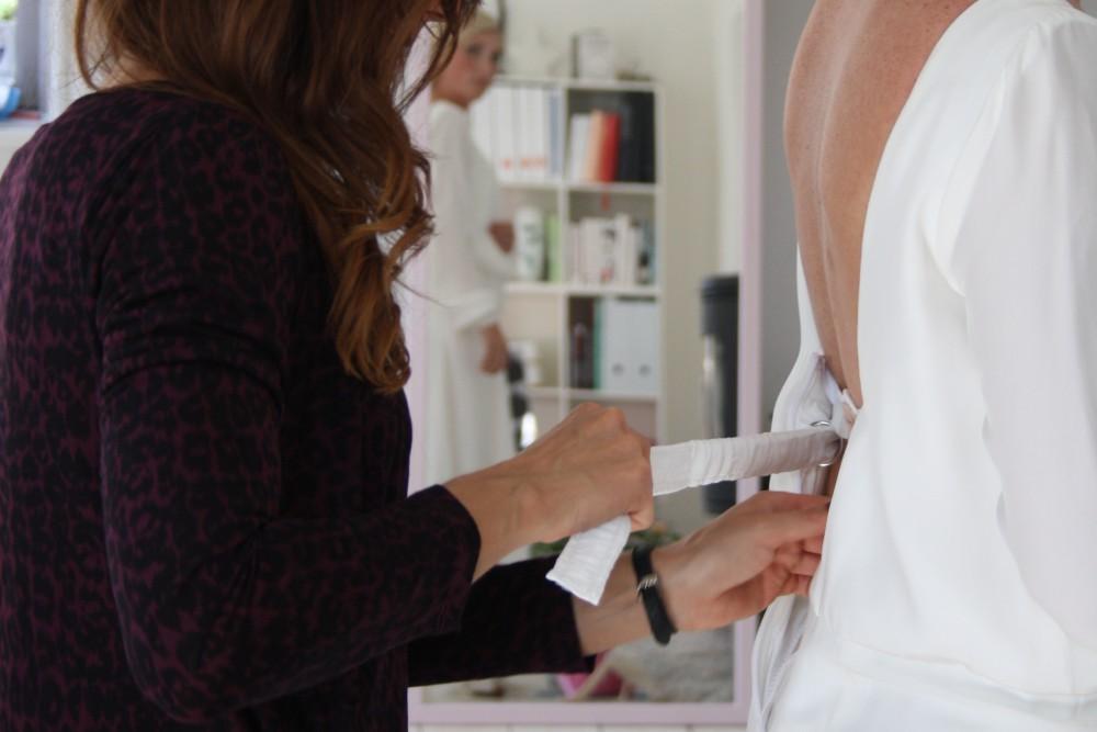 skræddersyet brudekjole