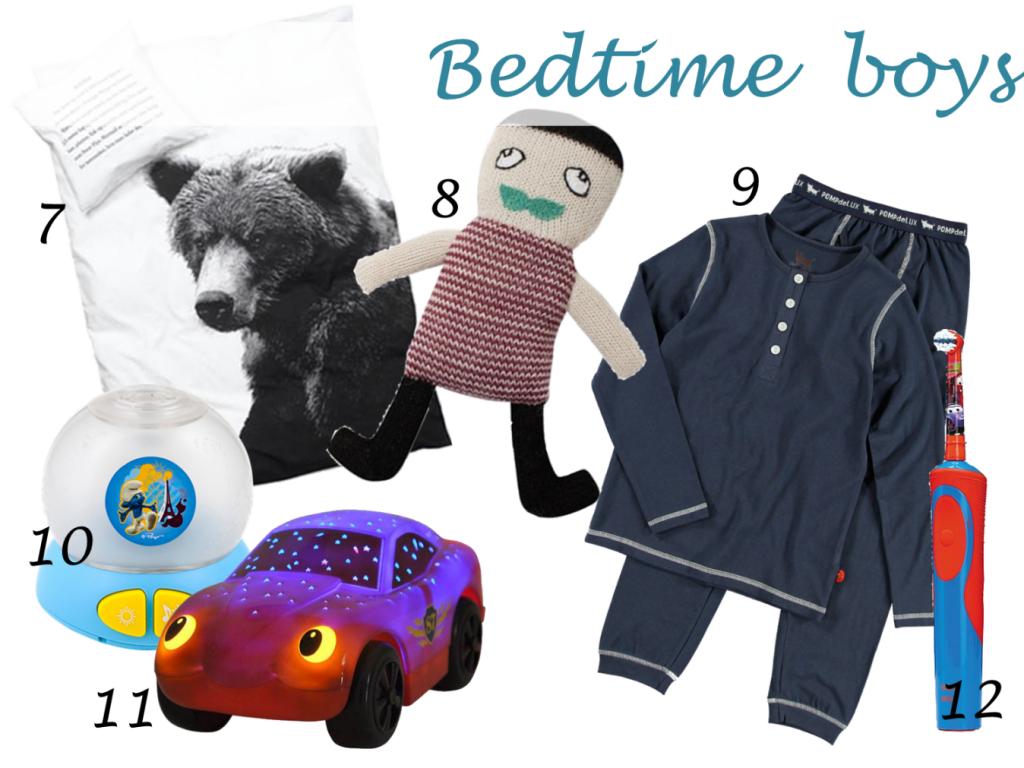 bedtime_boys_shopping collage