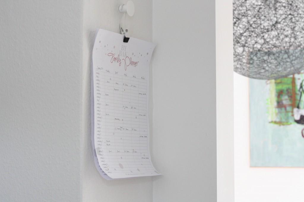 Family planner_gratis familie kalender_FREE printable