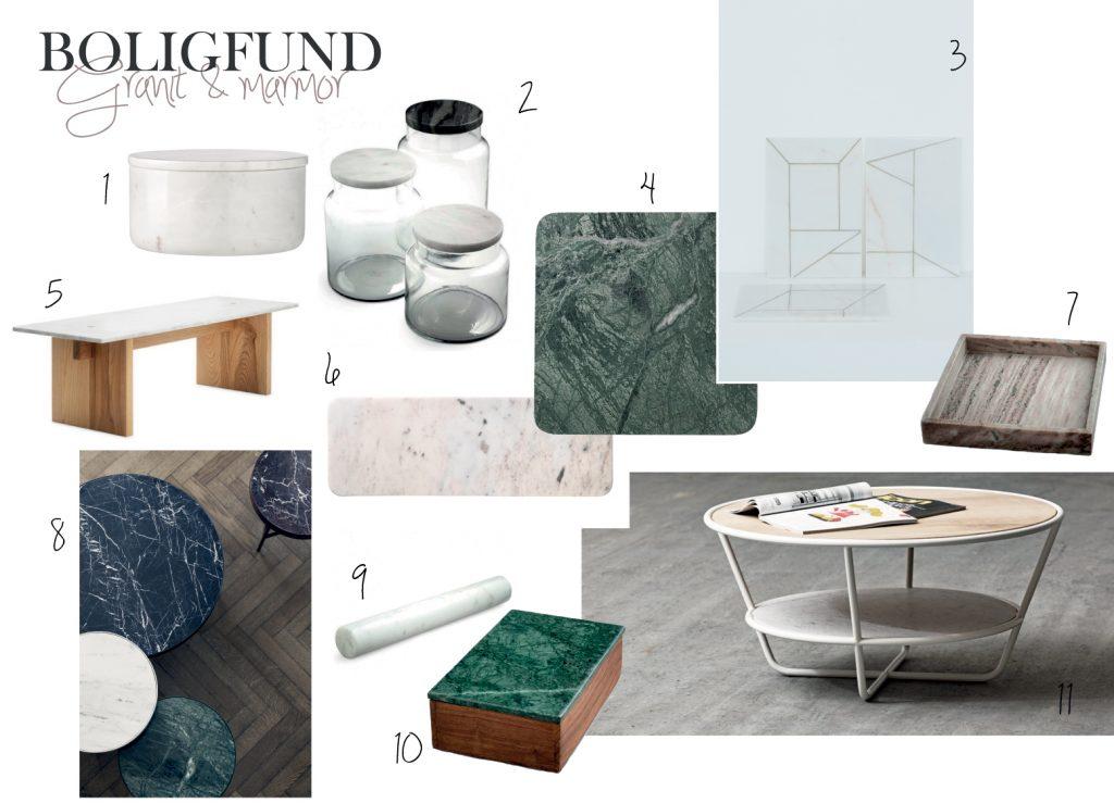 Marmor og granit indretning