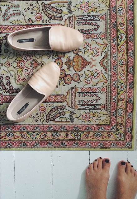 Nude_loafers Zara