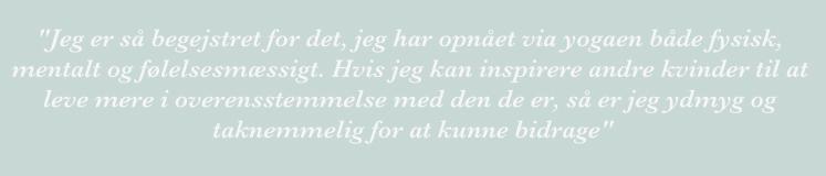 Yoga citat_Trine Hedegaard