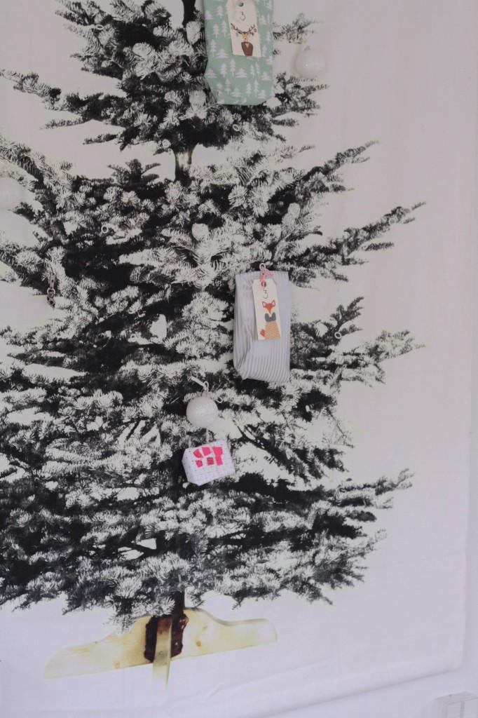 ønskesedler og ild i pejsen jul hos BY BAK