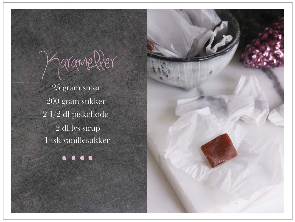 hjemmelavede karameller opskrift