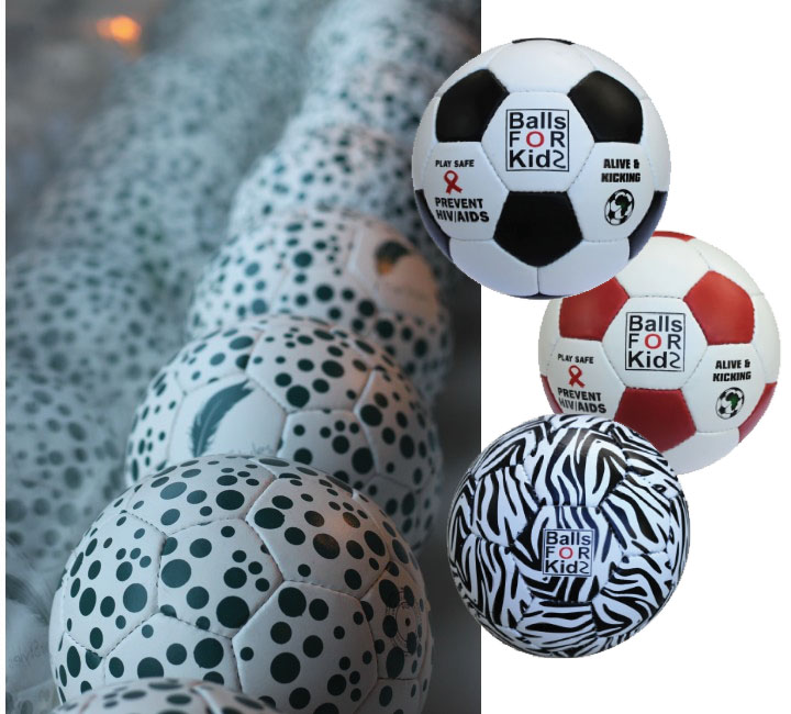 Design for velgørende projekter - Balls for kids