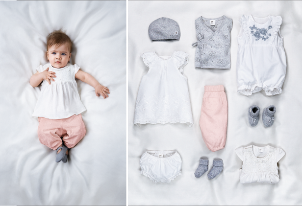 Babytøj i bytte for en poliovaccine