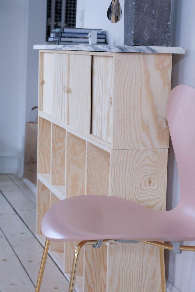 Nyt møbel med marmor {DIY}