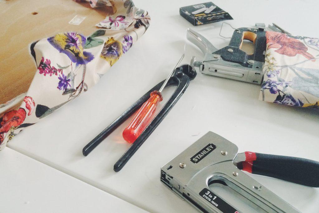 Møbelpleje og ombetrækning DIY