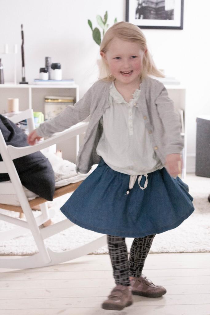 Om børn, som vælger tøj selv