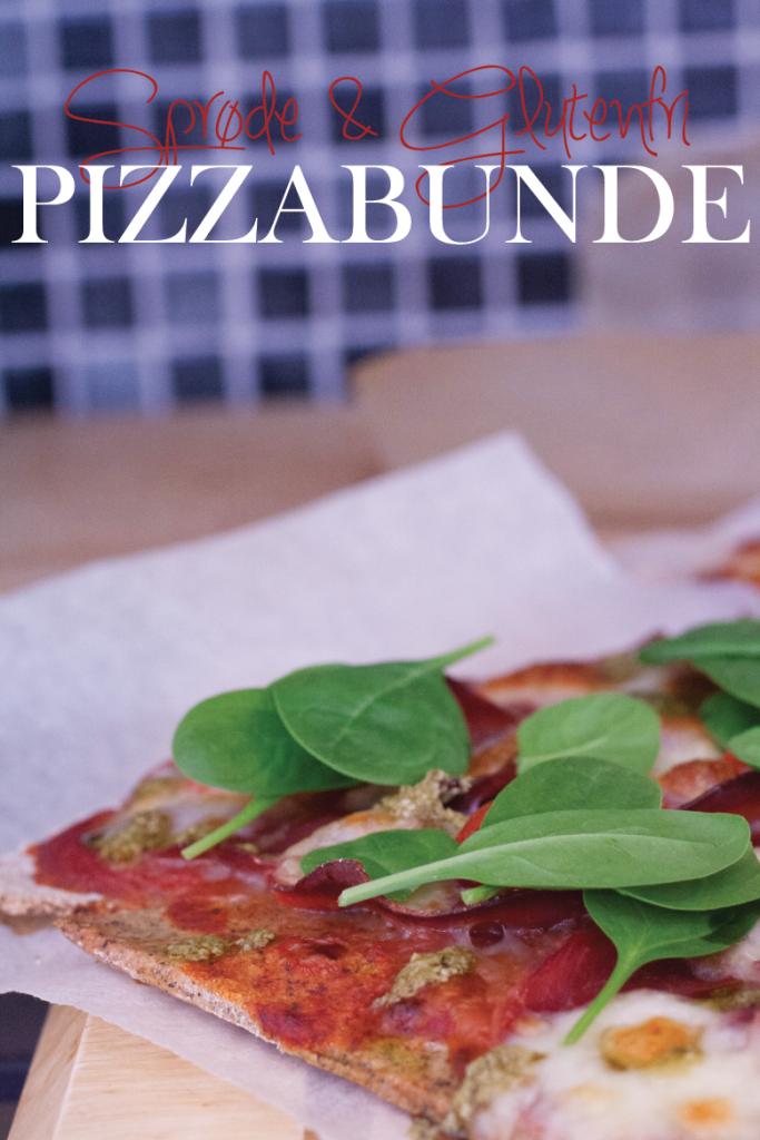 Glutenfri og sprøde pizzabunde_opskrift
