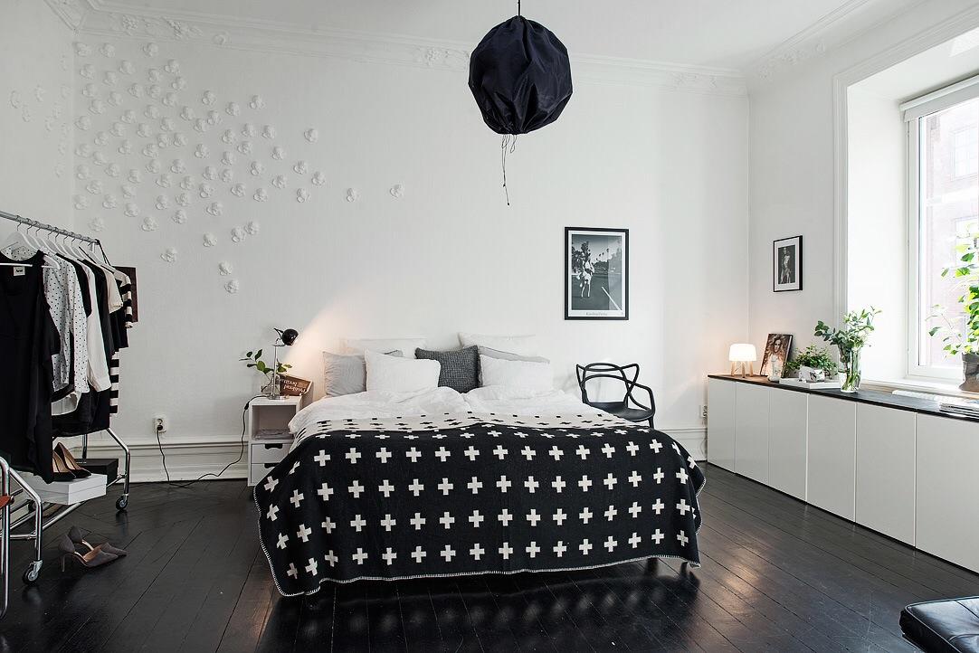 Herskabslejlighed med smuk nordisk indretning