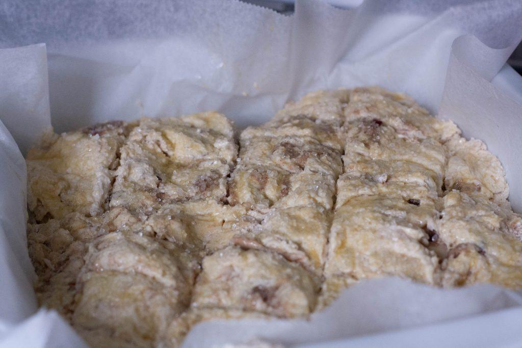 Morgenbrød med remonce af marcipan, kanel og æble_glutenfrit brød-2