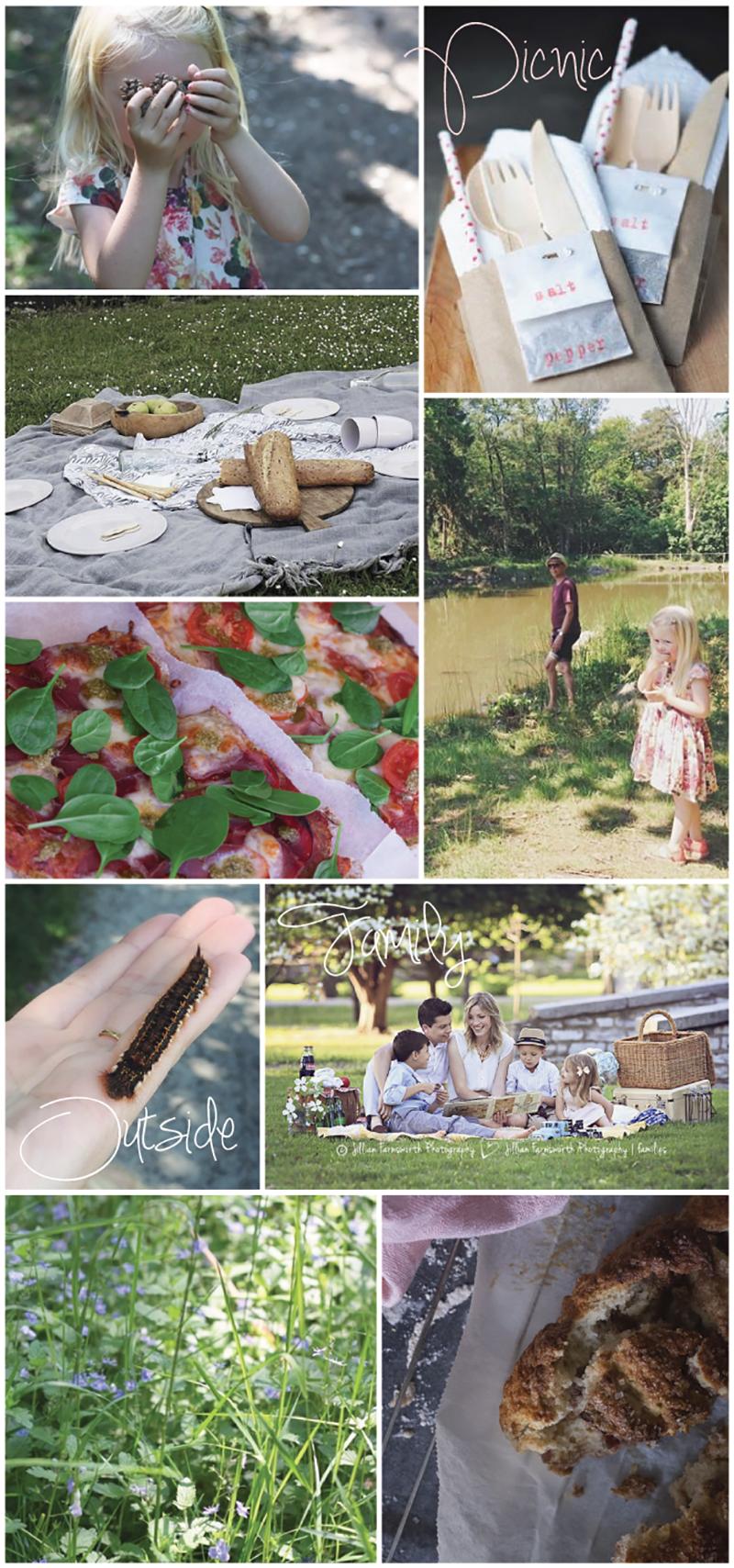 familiedag i Kongens Have København - picnic, Rosenborg, børneteater