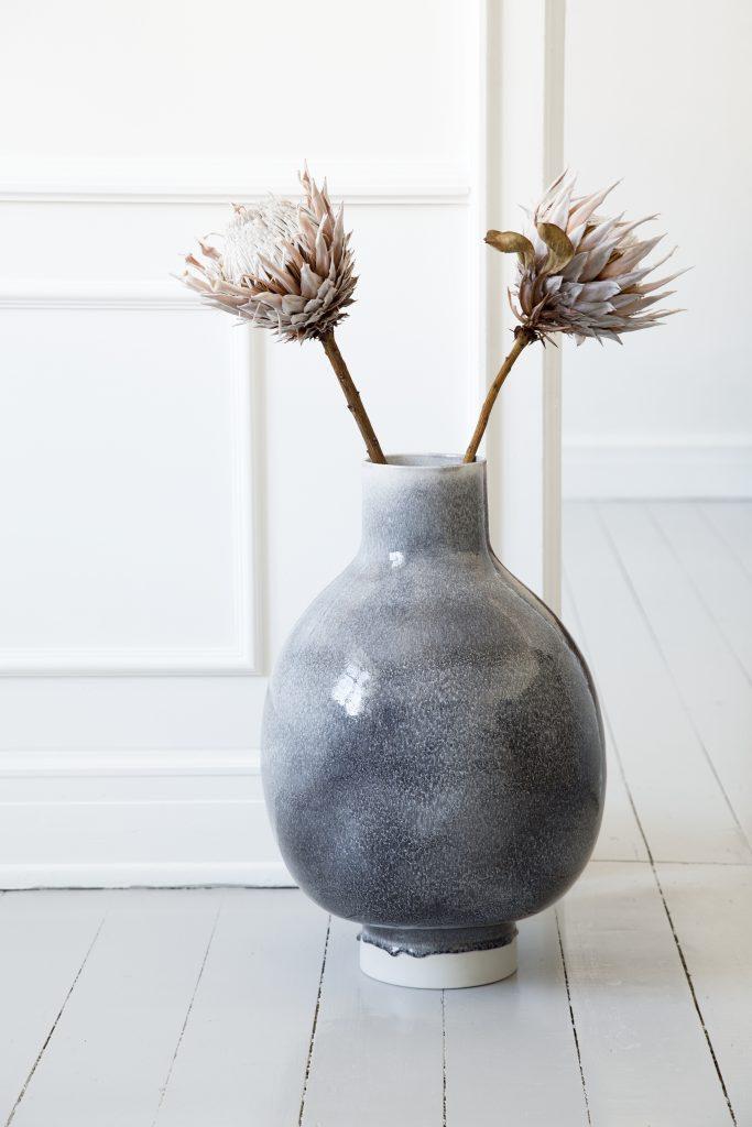 Unico Floor Vase H500 Heather 1B