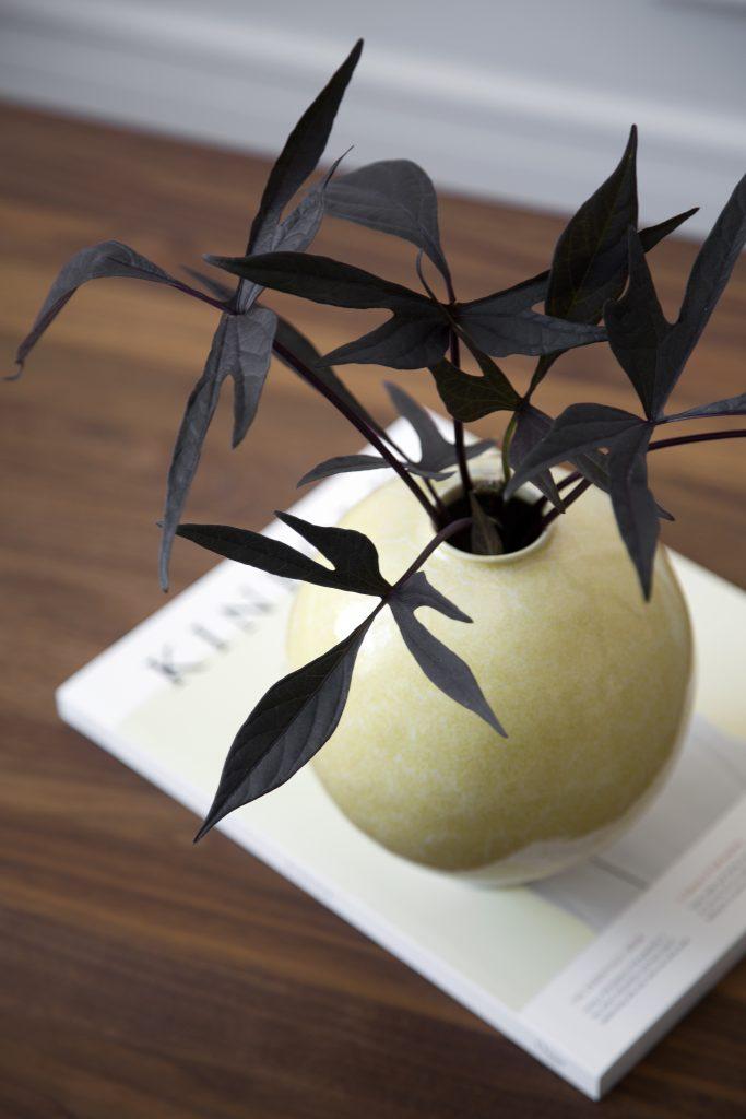 Unico Vase H170 Ocher 2A