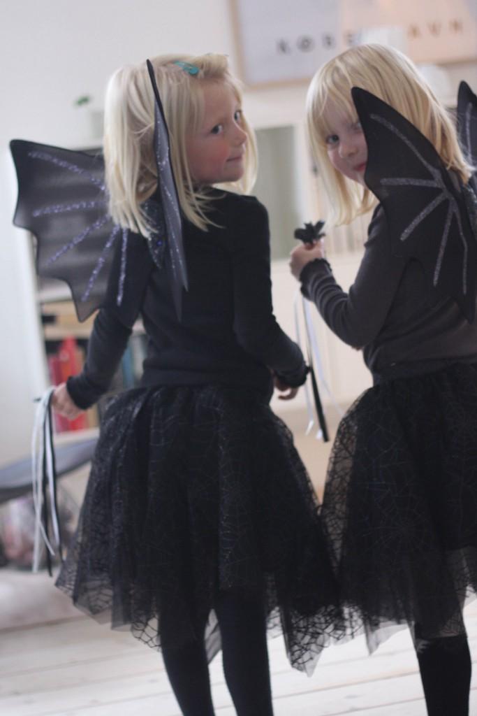 Halloween, udklædning og glimmerdetaljer