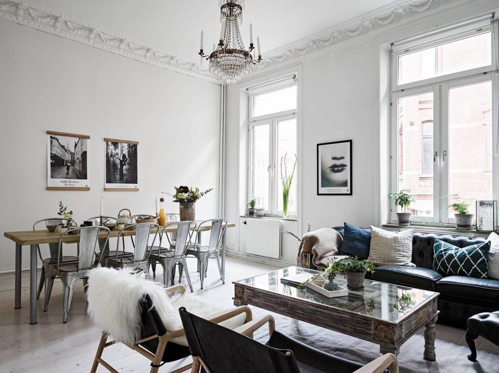 Sådan giver du din bolig en sammenhængende indretning