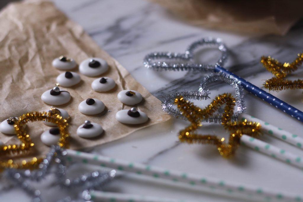 Nem nytårspynt og opskrift på mintpastiller