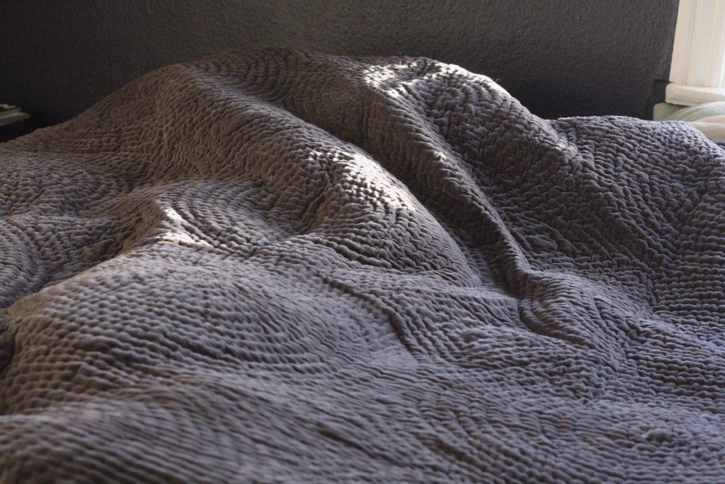 Julekalender 17. December: Vind velour sengetæppe