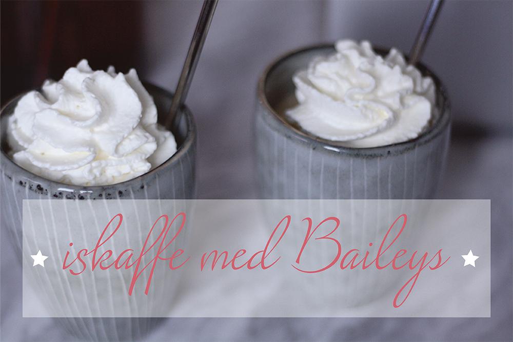 Iskaffe med Bailey's på få minutter
