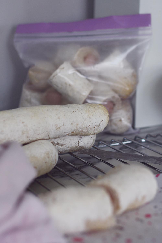 glutenfri pølsehorn opskrift