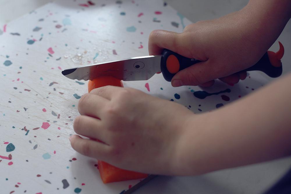 Sikker børnekniv