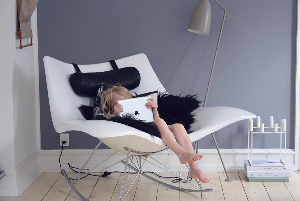 Indretning hjørne afslapning