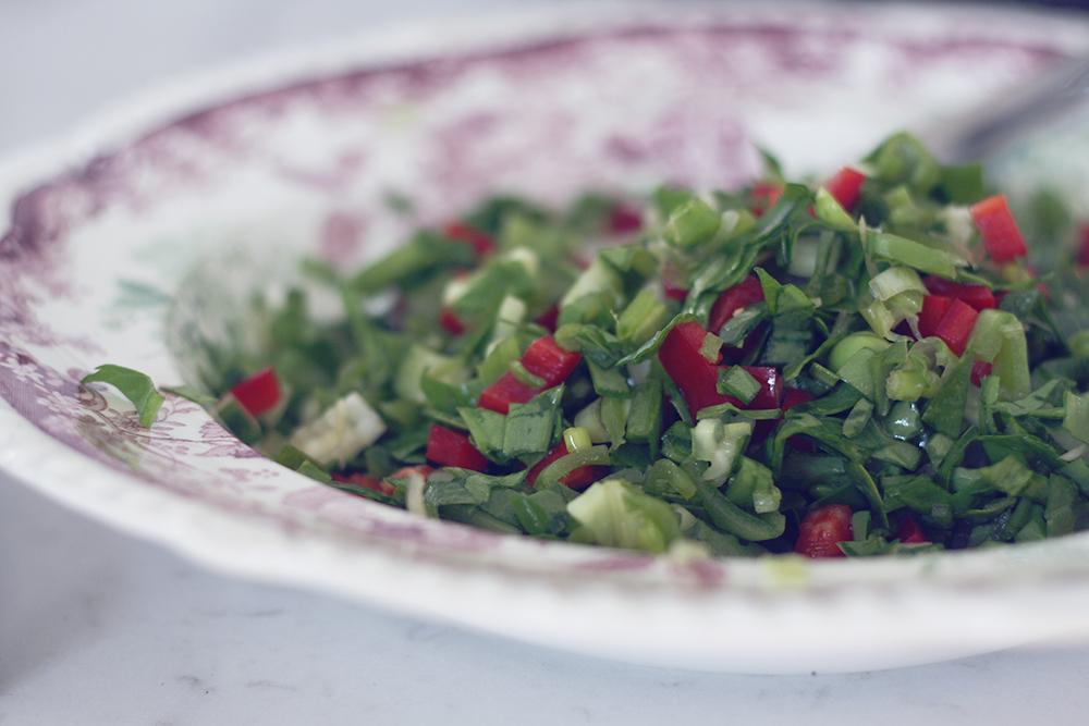 Sommersalat tabouleh 2
