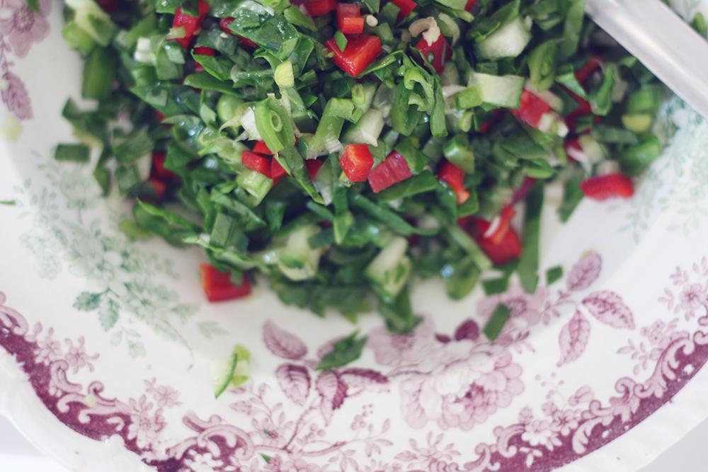 Sommersalat tabouleh 3