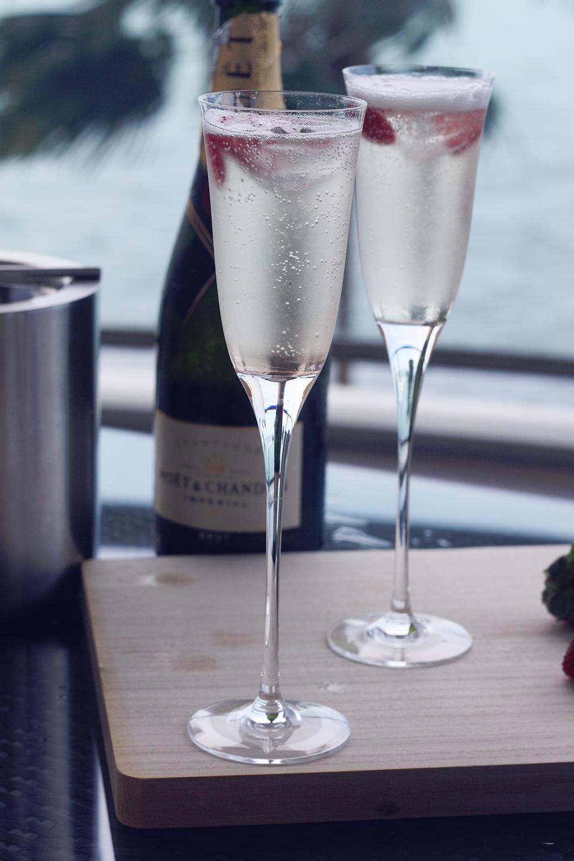 champagnecocktail opskrift