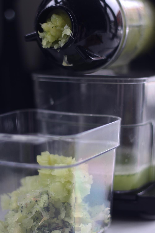 Grøn cooler alkoholfri agurk mynte