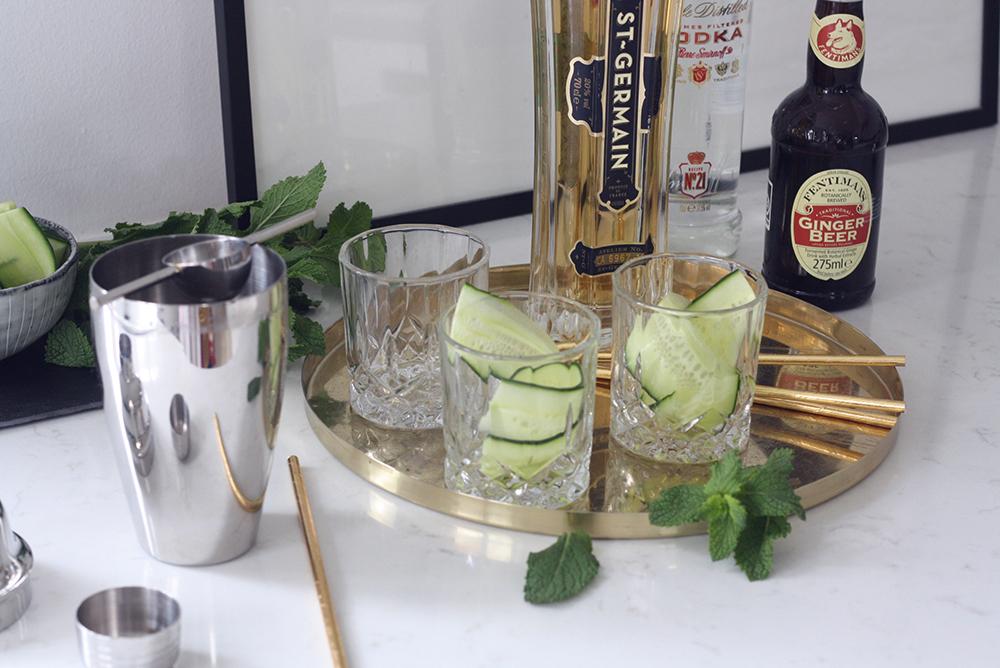 Opskrift cocktail agurk a pot of gold