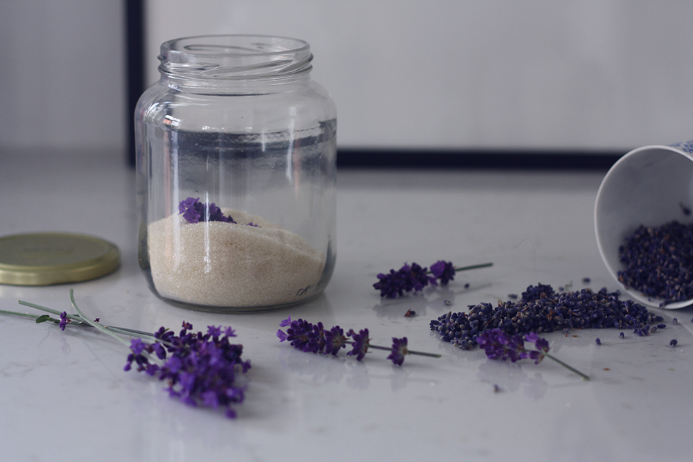Lavendelsukker opskrift 5