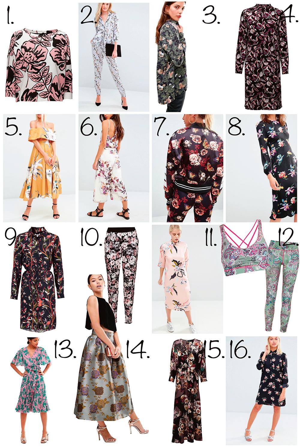 Blomster og mode