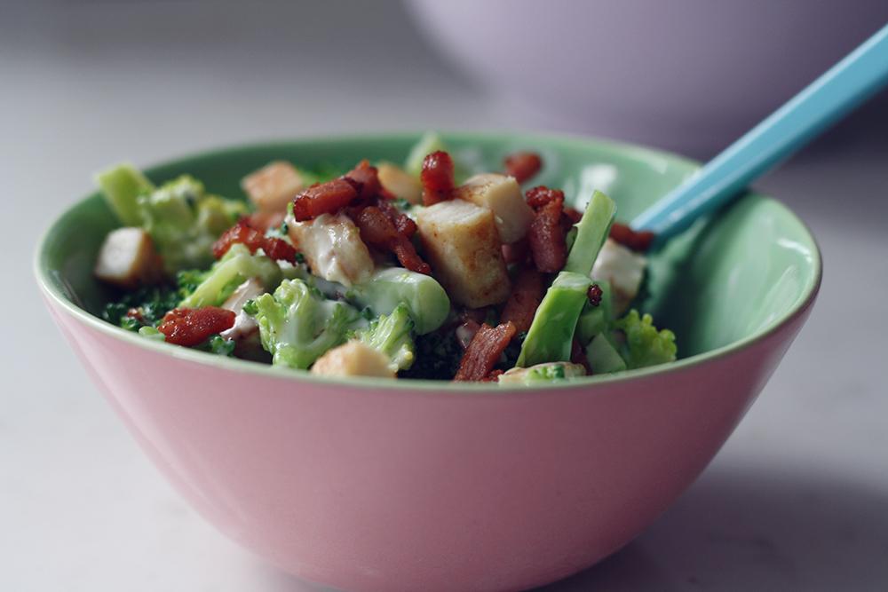 Broccolisalat 1