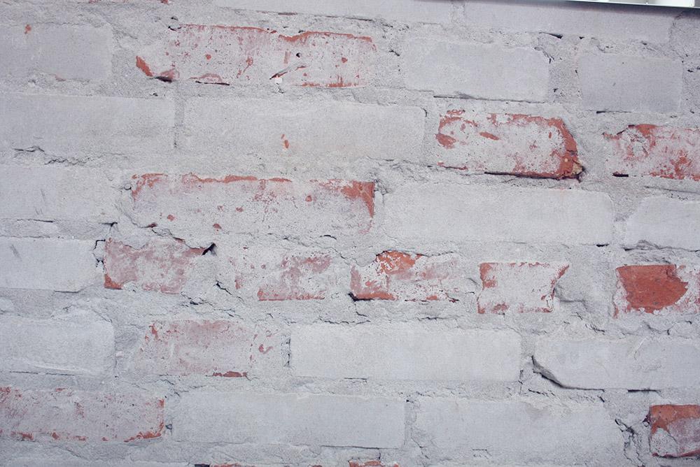 Rå murstensvæg 3