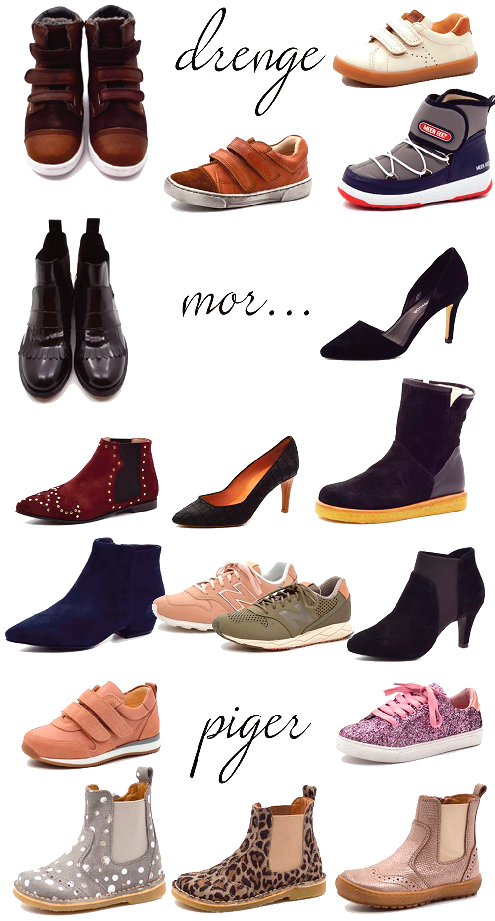457cae67d4a Vind valgfrit par sko til mor og barn fra Growing Feet - Dorte Bak