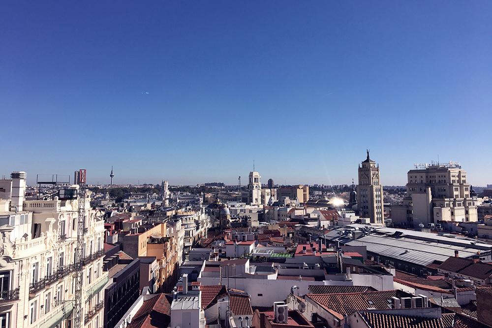 Hotel Madrid chueca beliggenhed