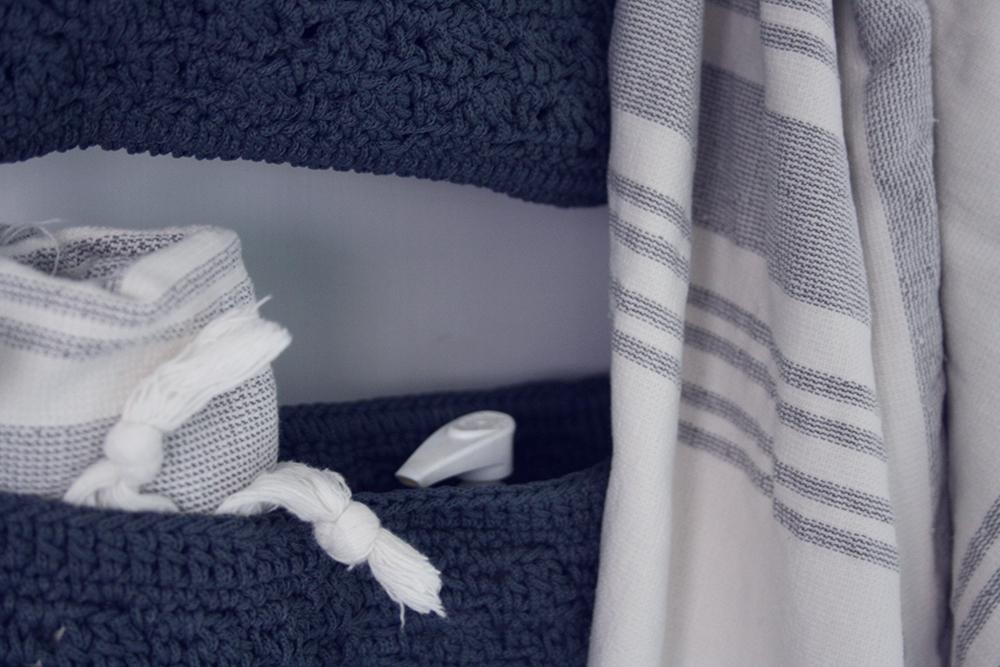 bedre opbevaring badeværelset hylder