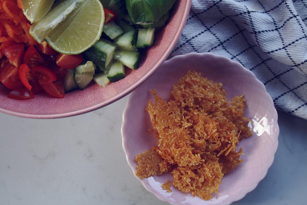 sunde vafler med ris