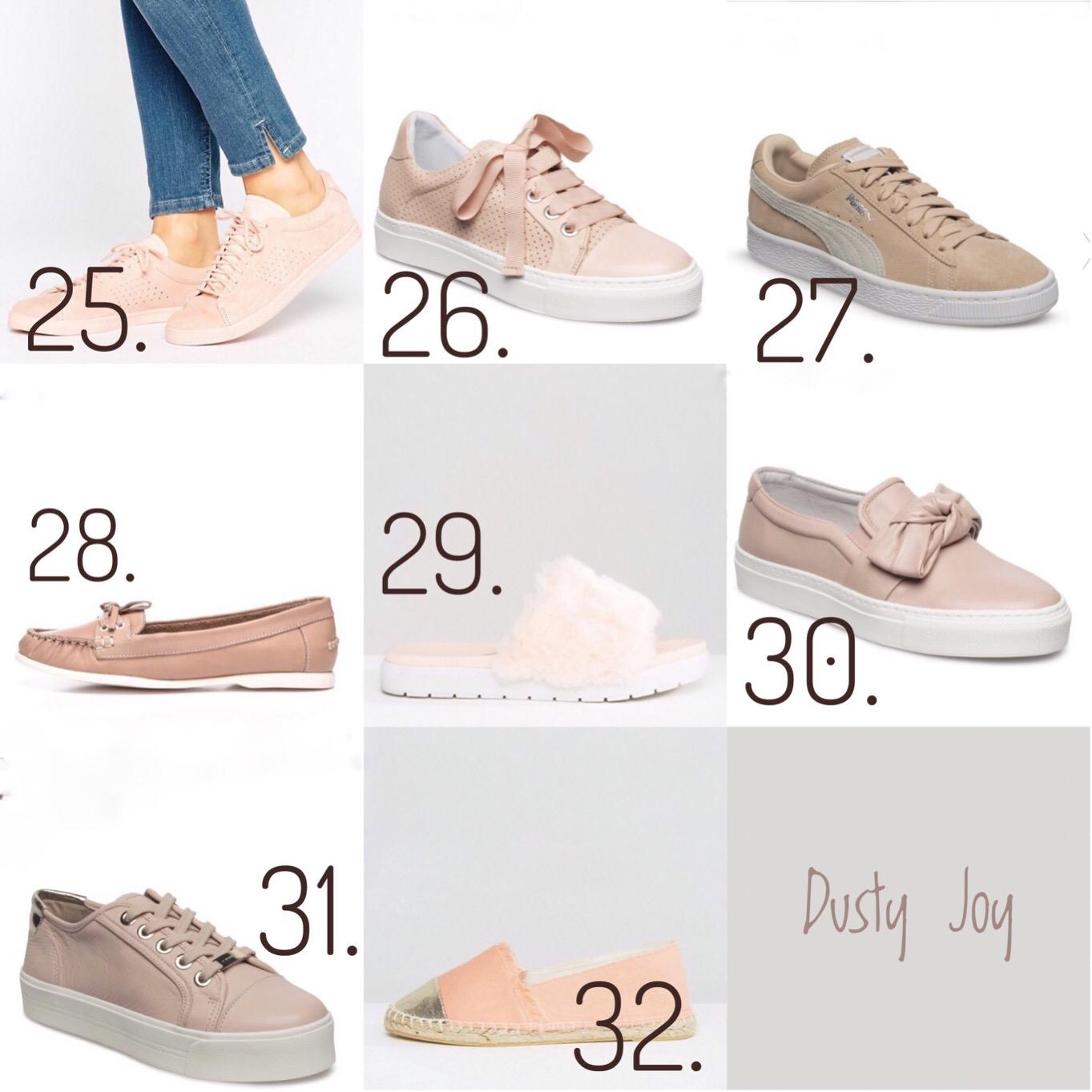 6a339e24832 Traditionen tro skal markedes afsøges for de bedste modeller indenfor  pudderfarvet, behagelig skomode, så her er hele 32 fantastiske sko i sart  rosa eller ...