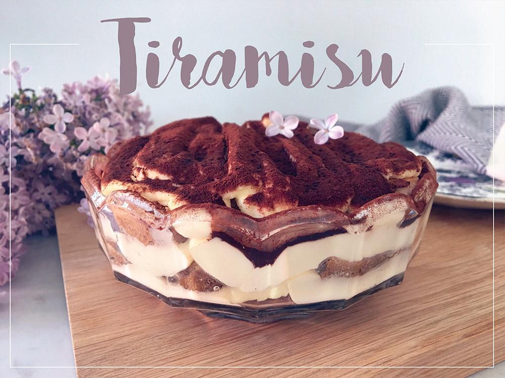 Opskrift klassisk Tiramisu