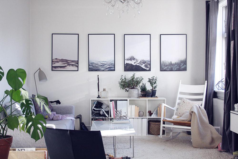 Fantastisk Når mand og kone skal indrette en stue... - Dorte Bak XS38