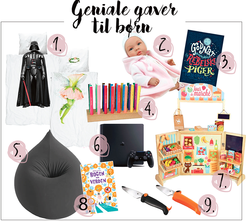 Geniale gaver til børn 3-10 år - Dorte Bak