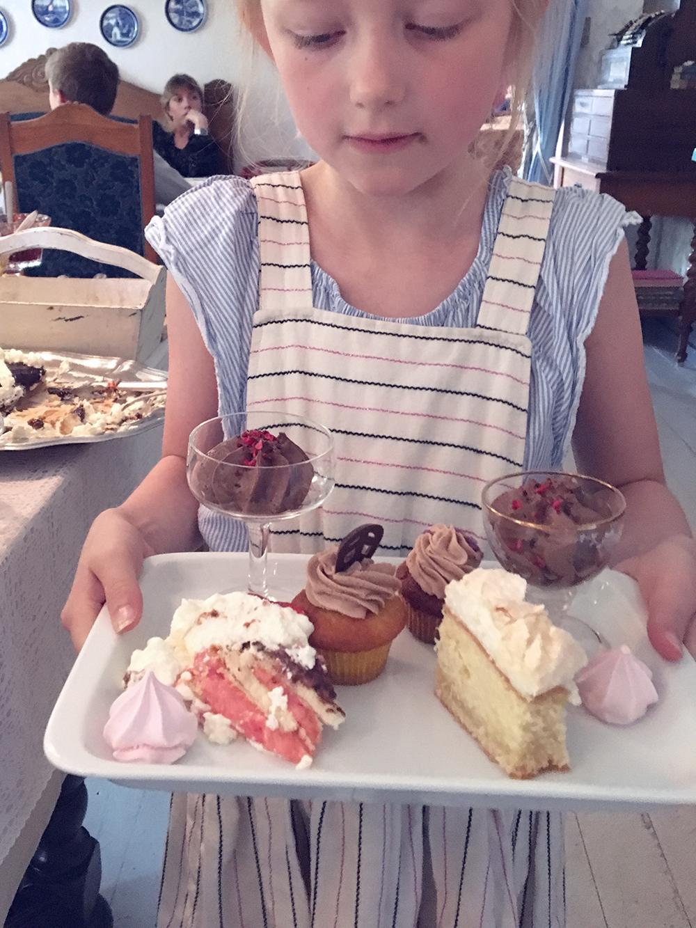 guide små byer bornholm Fru Pedersens Cafe