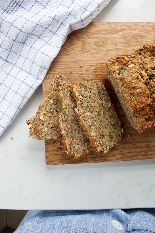 glutenfrit rugbrød med protein