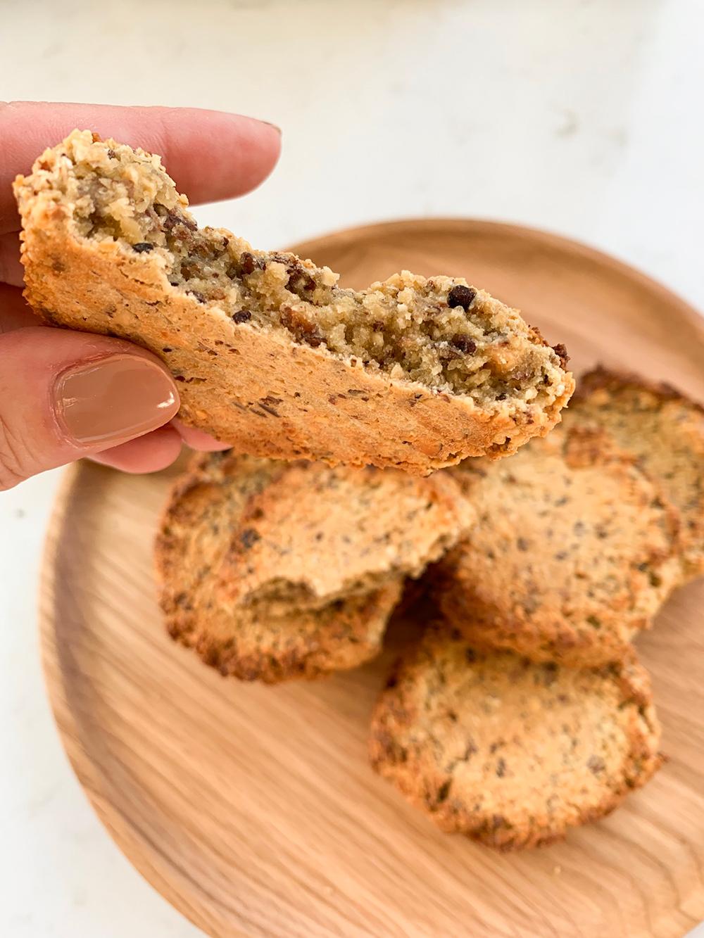 sunde cookies med mindre sukker opskrift